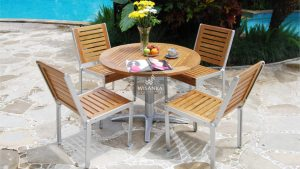Collection Alloy Casting Marrisa Dining Set