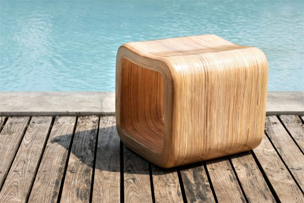 Collection Fiberglass Liren Stool
