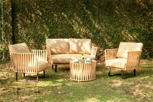 Collection Synthetic Rattan Paula Living Set
