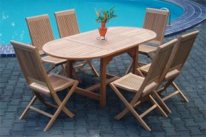 Collection Wooden Lahana Dining Set