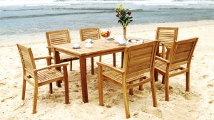 Collection Wooden Praha Dining Set