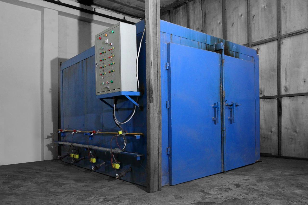 Kiln Dry Powder coating