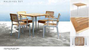 Maldives Outdoor Dining Set Furniture