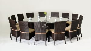 Synthetic Rattan Furniture Balkan Dining Set