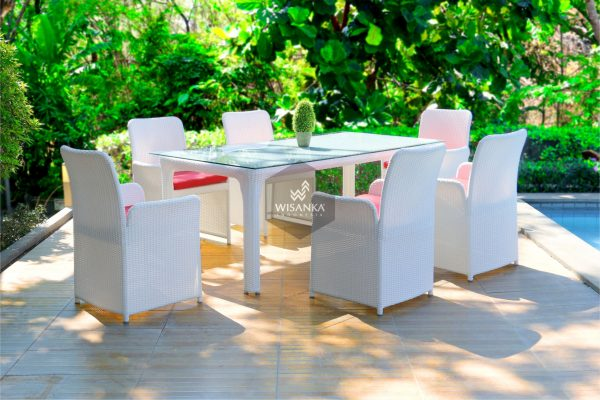 Synthetic Rattan Furniture Chalta Dining Set