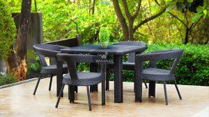 Synthetic Rattan Furniture Espana Dining Set