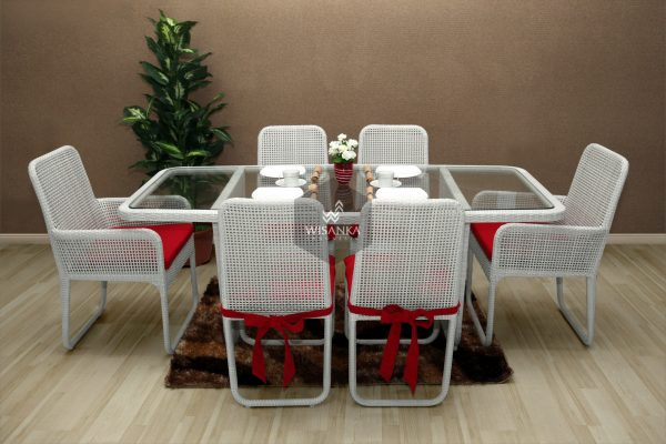 Synthetic Rattan Furniture Fern Dining Set