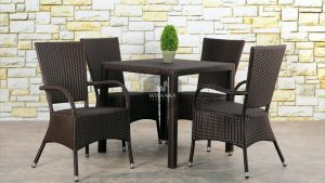 Synthetic Rattan Furniture Kenanga Dining Set 2019