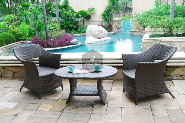 Synthetic Rattan Furniture London Terrace Set