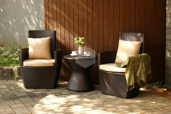 Outdoor Sofa Synthetic Rattan Furniture Malta Terrace Set