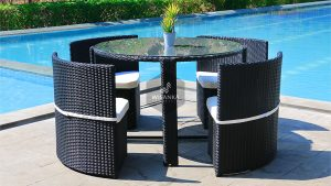 Synthetic Rattan Furniture Mozi Dining Set