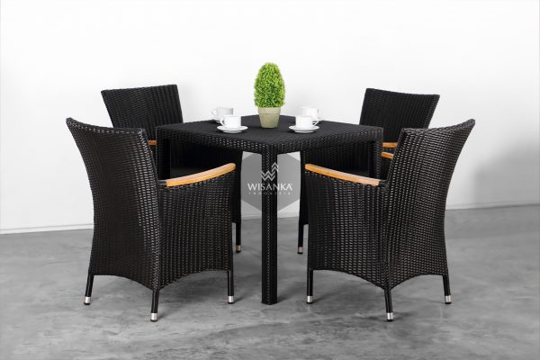 Synthetic Rattan Furniture Nova Dining Set
