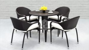 Synthetic Rattan Furniture Renggo Dining Set