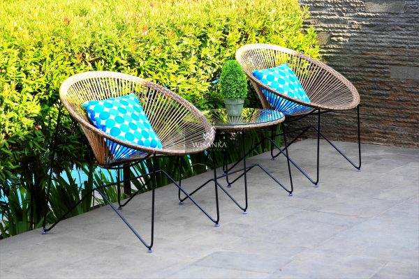 Synthetic Rattan Furniture Ring Terrace Set