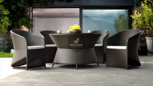 Synthetic Rattan Furniture Sherly Dining Set