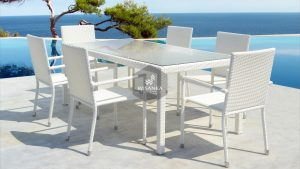 Synthetic Rattan Furniture Vinno Dining Set