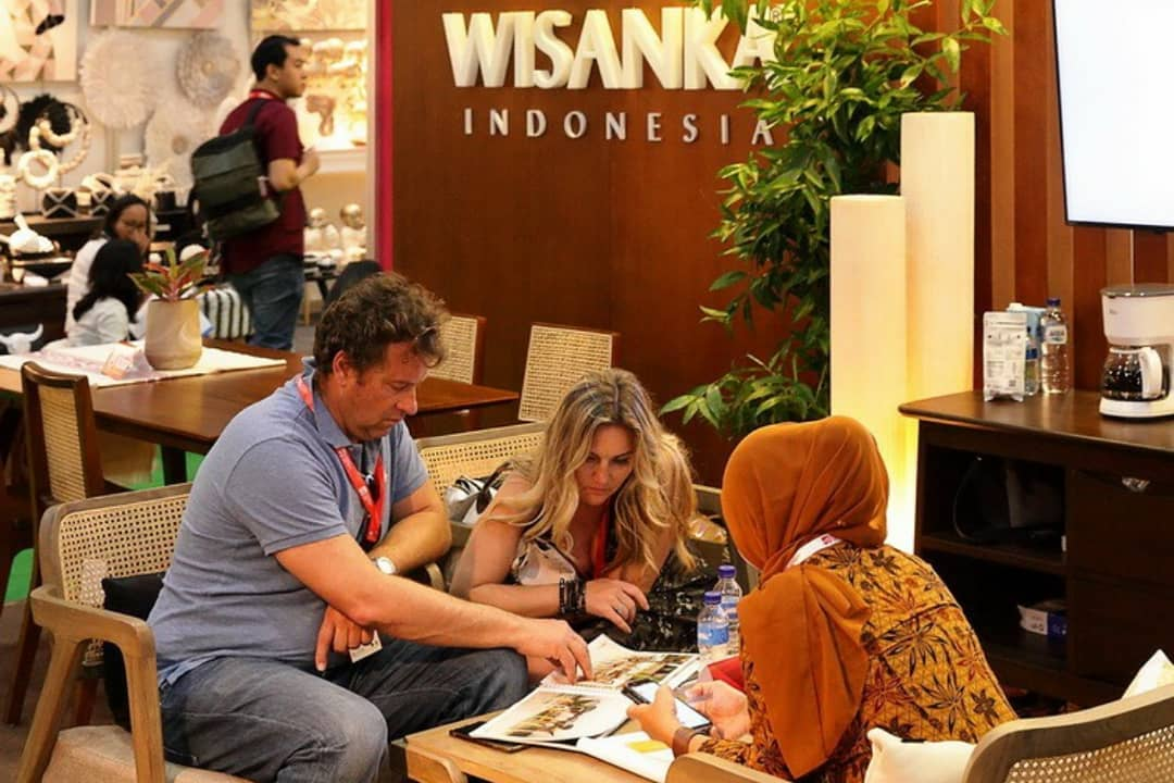 The Atmosphere of Wisanka Indonesia during IFEX 2019