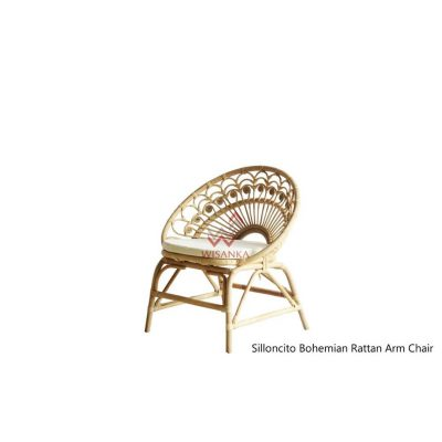 Silloncito Rattan Arm Chair