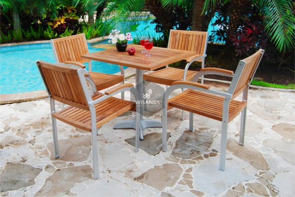 Collection Alloy Casting Jacko Dining Arm Set