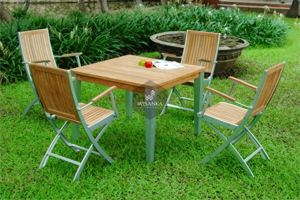 Collection Alloy Casting Madonna Dining Arm Set