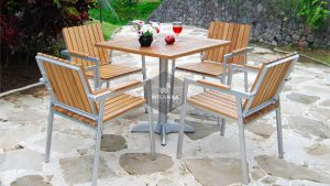 Collection Alloy Casting Phoenix Dining Arm Set