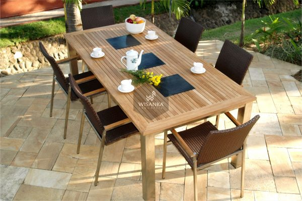 Collection Stainless Steel Madison Outdoor Dining Sets
