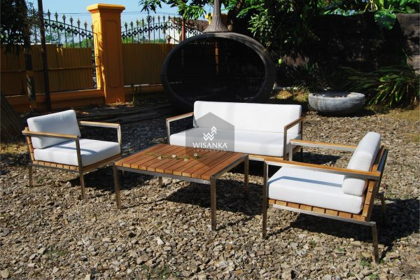 Collection Stainless Steel Mexico Living Set 1