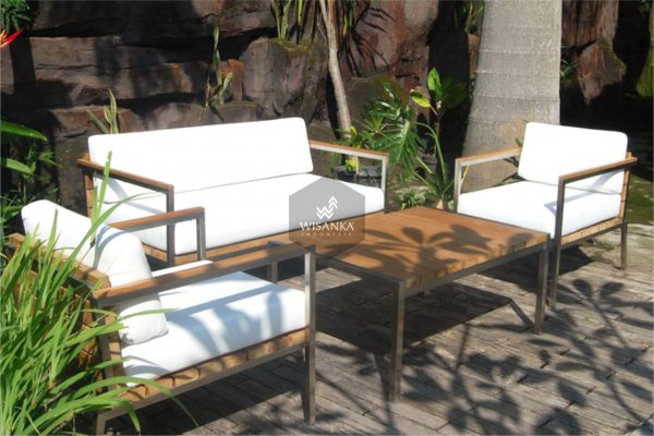 Collection Stainless Steel Mexico Living Set