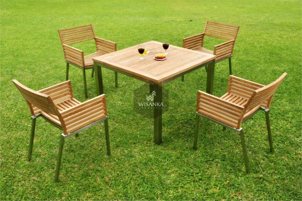 Collection Stainless Steel Terano Dining Set