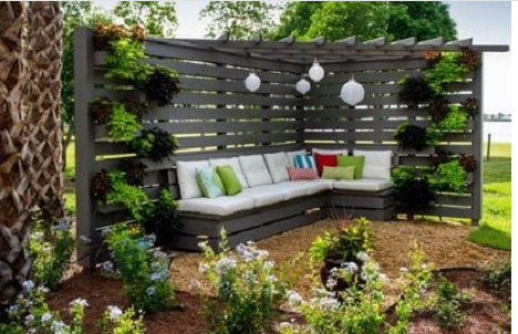 Making a minimalist garden be more beautiful