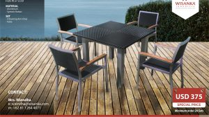 Outdoor Furniture SALE 2019 Marbella Set