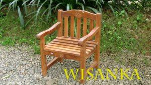 Rose Chair Children Kids Outdoor Furniture
