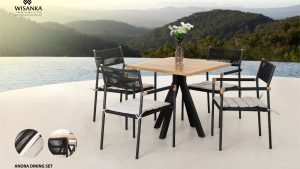 Andra Outdoor Dining Sets