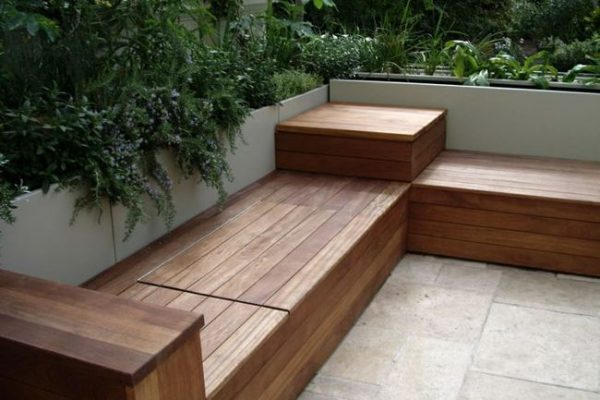 Outdoor Storage Bench Seat Material