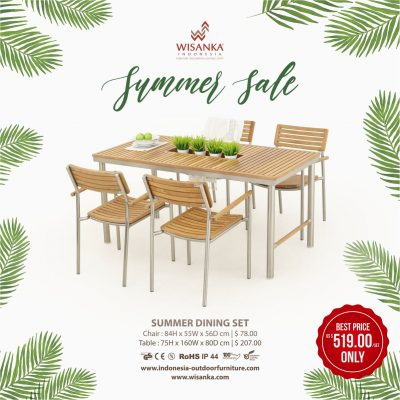 Summer Outdoor Dining Sets